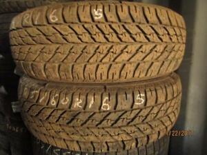 205/60R16 2 ONLY USED GOODYEAR WINTER TIRES
