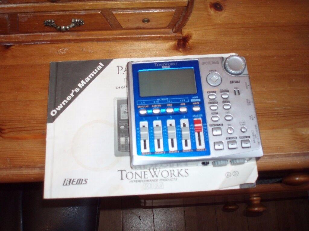 KORG 4 TRACK DIGITAL RECORDING STUDIO