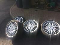 "BMW M series 18"" inch wheels"