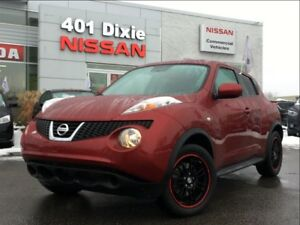 2014 Nissan Juke SV AWD| SUNROOF| BLUETOOTH| ALLOYS