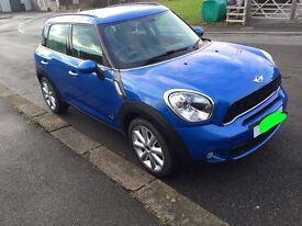 Mini Countryman SD All4, chilli and media pack, 13 plate, excellent condition