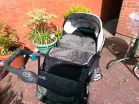 Silver cross pram with all the accessories