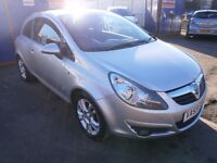 2009 VAUXHALL CORSA 1.2 SXI 3DOOR HATCHBACK, FULL SERVICE HISTORY, HPI CLEAR, CLEAN LIKE NEW