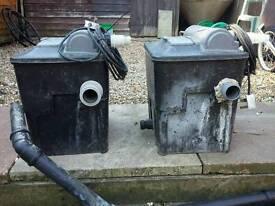 Hose Lock Cyprio 2500 litre filter box