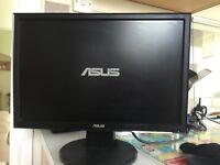 "ASus 19"" lcd monitor vw193"