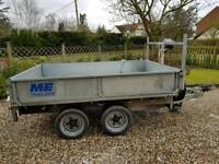 8x5'6 Meredith & Eyre twin axle trailer