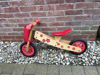 Wooden 3 in 1 Balance Bike MamaMeMo