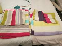 2 x king size duvet sets both woth matching pillow cases