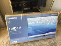 "Samsung 49"" 4k ultra HD smart led tv ue49ku6470 read the description"