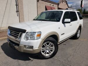 2007 Ford Explorer Eddie Bauer V8 / 4x4 / 7PSNGR IMPECABLE!!