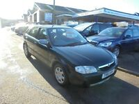 1999 t mazda 323f 1.5 lxi 5 door, part exchange bargain to clear. 20 + cars in stock