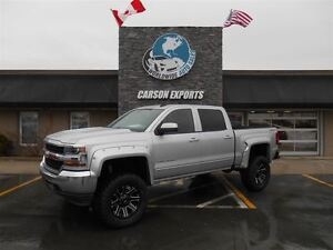 2016 Chevrolet Silverado 1500 LT 4X4! MONSTER LIFT! FINANCING AV