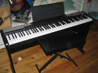 Digital Piano - Casio CDP100 - with stand and stool - barely used - good condition