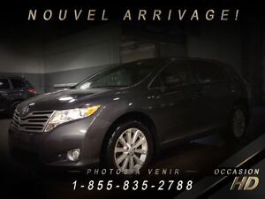 2012 Toyota Venza AWD + CRUISE + MAGS 19 + BLUETOOTH + TRÈS PROP