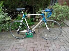 Mans Barry Hoban racing bike