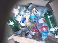 about 50 Assorted jars and bottles.