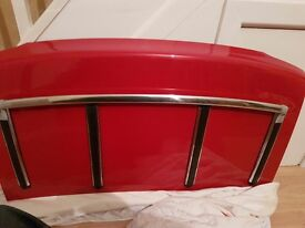 Mazda MX5 / MX-5 mark 1 boot lid with luggage rack in classic red