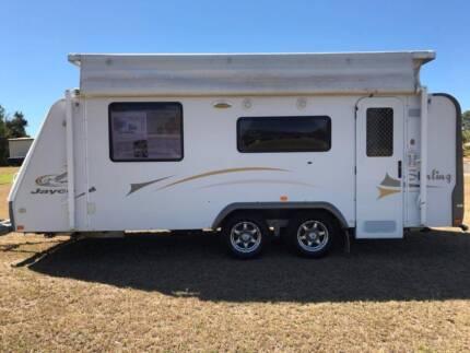2009 Jayco Sterling Poptop Caravan - 17.55.3