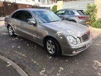 2004 Mercedes-Benz E Class 2.7 E270 TD CDI 4dr Auto+Diesel+Half+Leather+Seats @07445775115