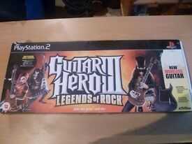 PS2 Guitar Hero - Guitars - Two available in Original Boxes