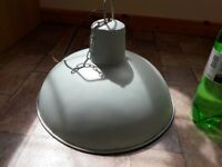 Genuine Antique huge Industrial style Lightfitting