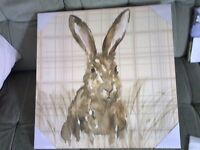 Lovely print of a Hare/Rabbit, perfect for a Mothers day gift. Brand NEW in cellophane