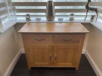 Solid Oak Small Sideboard originally from Oakworld
