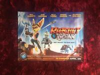 RATCHET AND CLANK MOVIE GAME POSTER