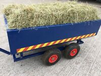 Trailer suitable for tractor go kart or quad