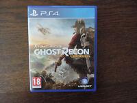 PS4 Tom Clancy Ghost Recon Wildlands Game