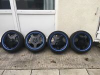 """FOR SALE MERCEDES BENZ AMG STYLE 18"""" ALLOY WHEELS"""