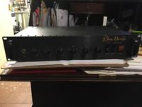 Dean Markley Solid state Bass head Model RM150 SB. sold with practice speaker cab