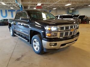 2015 Chevrolet Silverado 1500 LTZ, Leather, Bluetooth, USB, Remo