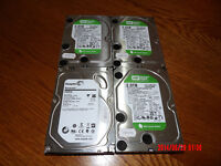 "2TB SATA internal 3,5"" Hard Disk Drives (HDDs) to desktops or DVR for £40 each"