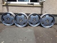mercedes monoblock style 18'' can be with tyres REDUCED PRICE