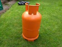 13KG Butane Gas Bottle - 2KG of Gas