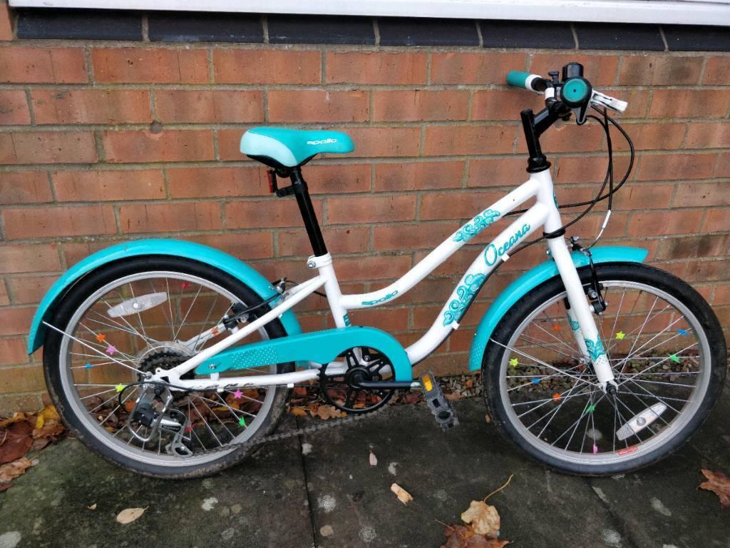 596216c5647 Apollo Oceana Girls Hybrid Bike 20