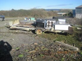 THE SCRAP IS BACK INCLUDING THE TRAILER BASE COME AND COLLECT FREE THANKS