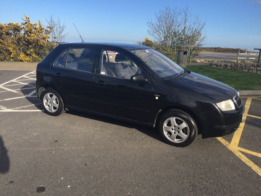 Mot Centre Newry >> 2002 Skoda Fabia 1.4 Black Line 5 Door Hatchback Mot Service History Low Insurance Cheap Car ...