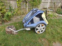 Chariot Comfort double bike / bicycle trailer