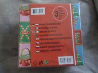 3 Brand New Christmas Gift Boxes