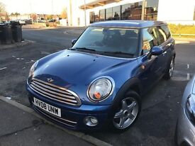 Mini clubman cooper d 1.6 diesel estate 20 tax upto 65mpg Funky cool cheapest on the web