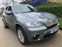BMW X5 3.0 40d M Sport xDrive 2011 GREY MINT SAT NAV REVERSE CAMERA FULL HIST...