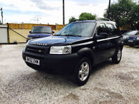 LHD LAND ROVER FREELANDER 2.0 TD4 GS AUTO ONLY 92K LEFT HAND DRIVE