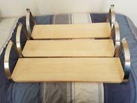 IKEA shelves x3