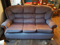 FREE THREE SEATER SOFA - MUST BE COLLECTED THURSDAY 1ST DEC PM