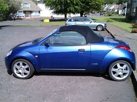 Ford Streetka 1.6 Lux Metallic Blue In Colour 67k Miles