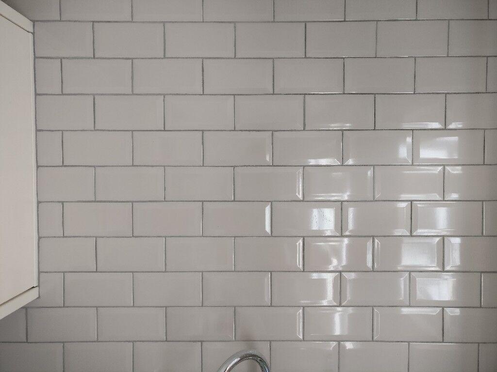ceramic wall tiles trentie taupe 100mm x 200mm b q. Black Bedroom Furniture Sets. Home Design Ideas