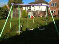 Children garden swing