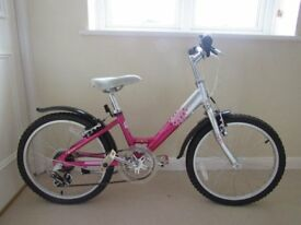 Girls Rayleigh 12 inch frame bicycle